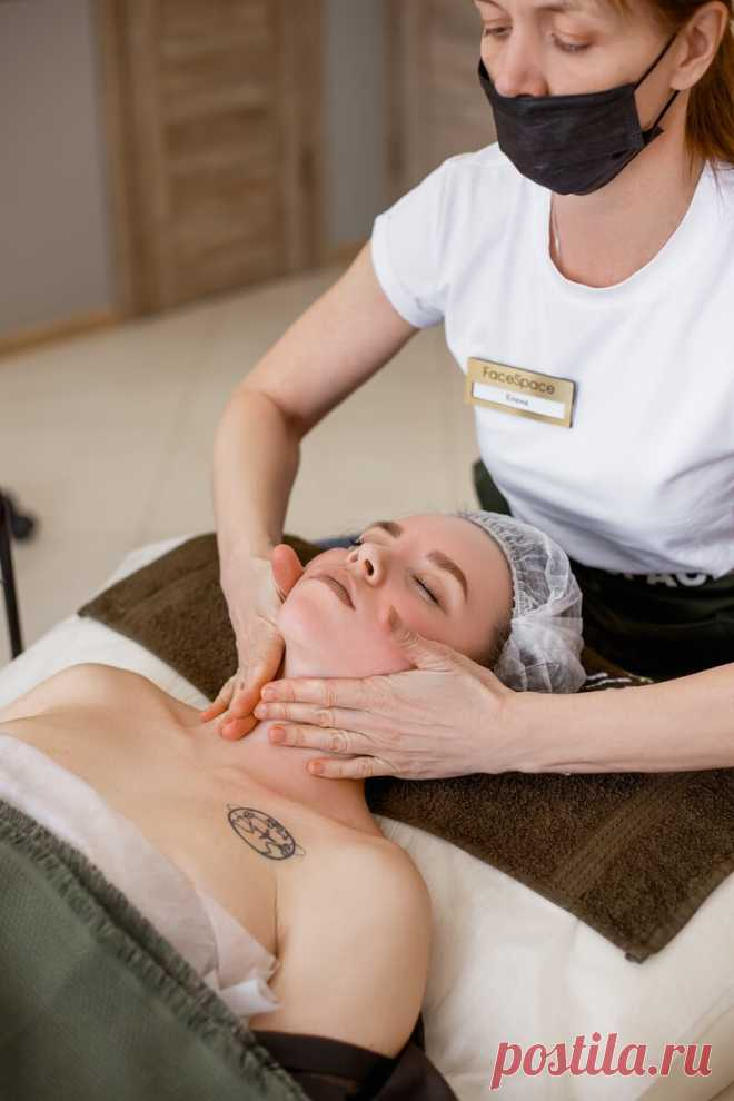 Как сохранить молодость шеи ⬇️ | Face Space , массаж лица | Яндекс Дзен