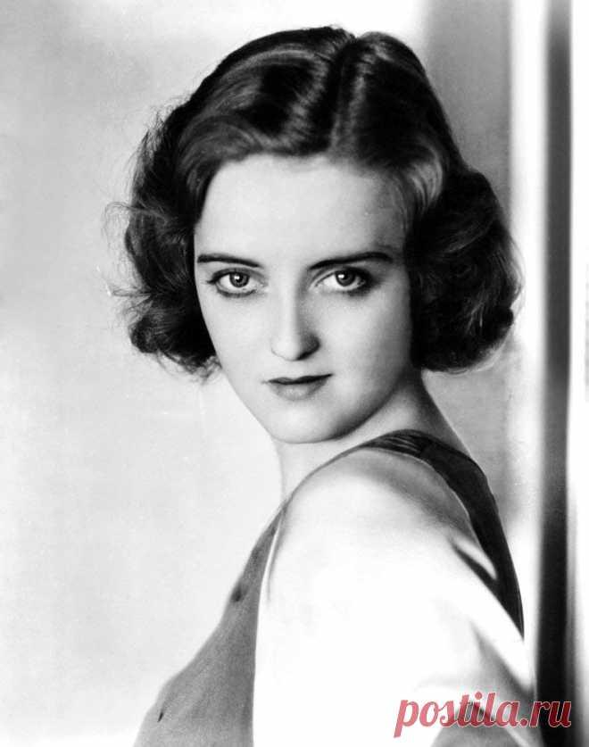 Бетт Дэвис, 5 апреля, 1908  • 6 октября 1989