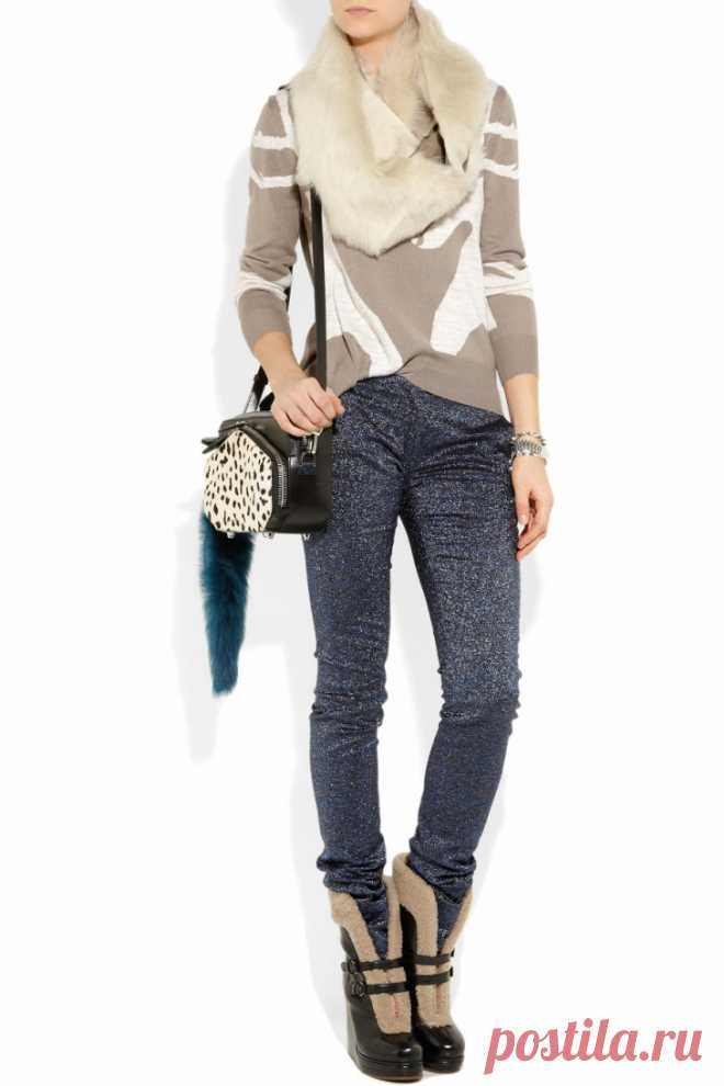 Свитер с оленями PHILLIP LIM Модная одежда и дизайн интерьера своими руками