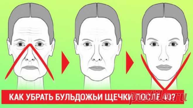 4 верных способа избавиться от бульдожьих щечек за 30 дней без подтяжек и уколов красоты. — Полезные советы