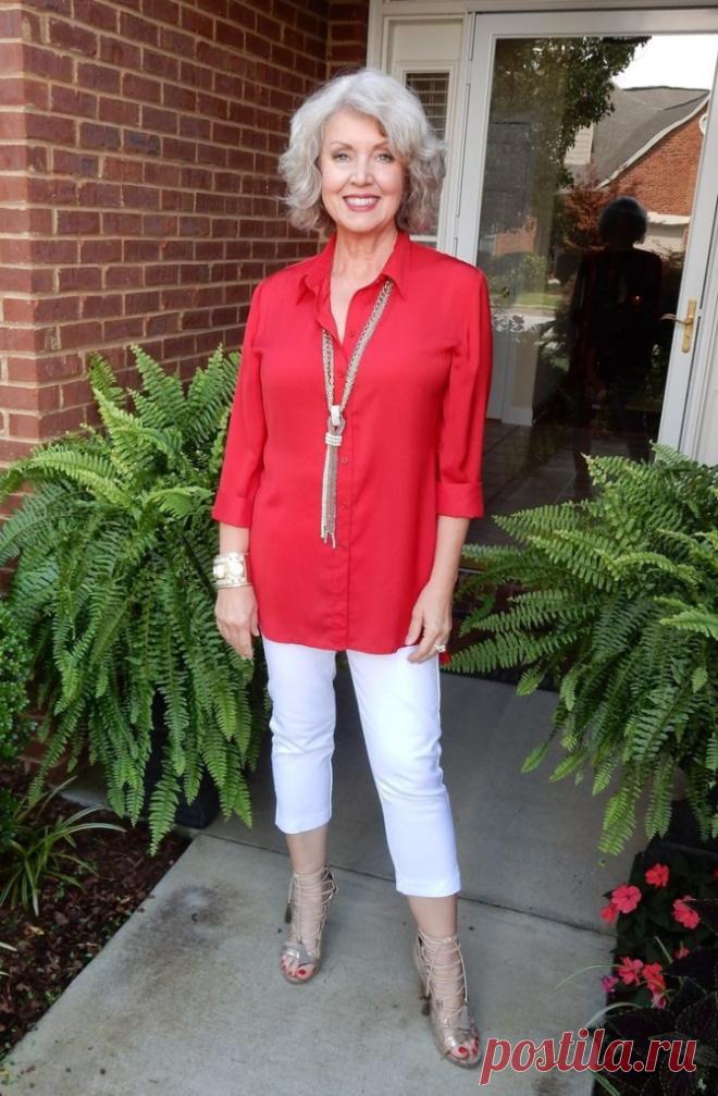 Как выглядеть стильно и привлекательно женщине за 50 этим летом | Красота и стиль | Яндекс Дзен