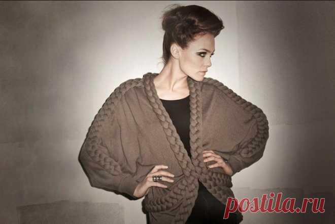 Вязание с косами Stine Ladefoged (трафик) Модная одежда и дизайн интерьера своими руками