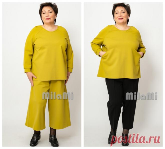 Стильные одежды для полных женщин: