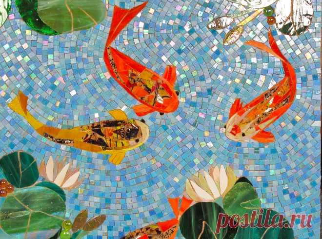 Mosaic Fish Art (Page 1) - Line.17QQ.com