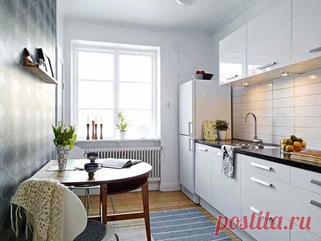 Как расставить мебель на кухне: полезные рекомендации