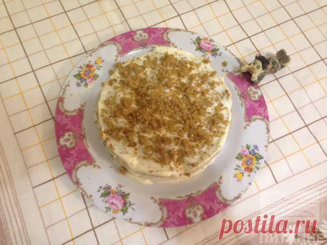 Медовый торт - Диетический рецепт ПП с фото и видео - Калорийность БЖУ Диетический торт на овсяной муке с добавлением кукурузного крахмала. Мед используется для приготовления крема. Без жиров и сахара.
