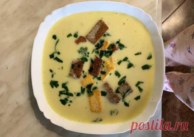 (38) Сырный суп🧀 - пошаговый рецепт с фото. Автор рецепта Vikeendr . - Cookpad