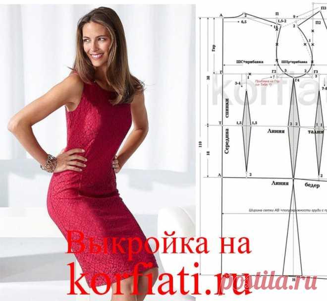 Выкройка-основа платья от Анастасии Корфиати Выкройка-основа платья на вашу фигуру. Выкройка-основа платья идеальной точности позволит сшить любое платье без многочисленных примерок. Все что вам потребуется - правильно снять мерки с фигуры и следовать инструкции по построению выкройки.