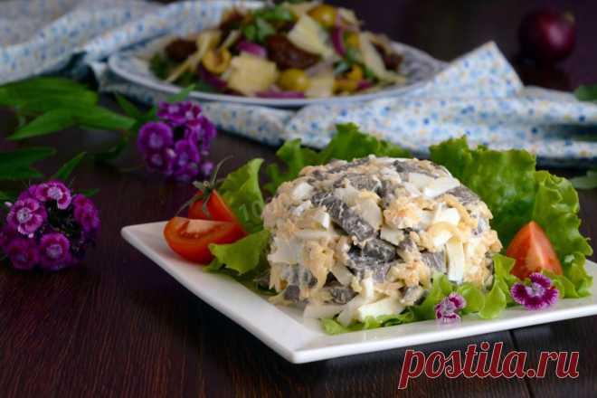 Салат из печени свиной рецепт с фото пошагово и видео - 1000.menu