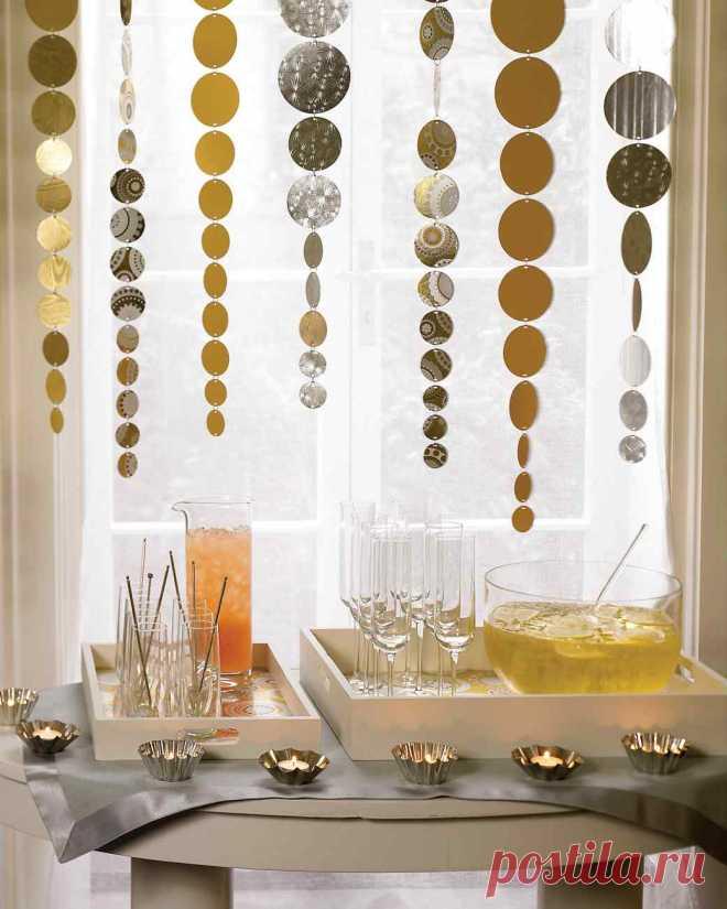 Создание новогоднего интерьера своими руками, декор елки, яркое оформление дома или квартиры