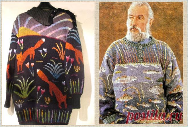 Приглашаю в волшебный мир цветного вязания финского дизайнера Сиркко Кёнёнен | МНЕ ИНТЕРЕСНО | Яндекс Дзен