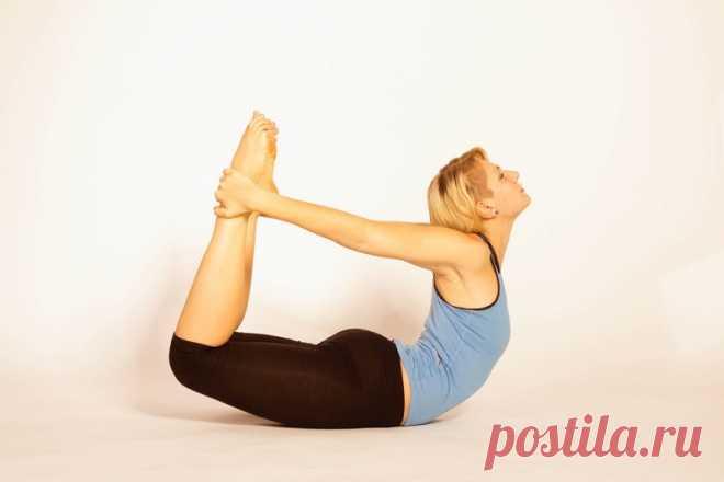 Женщинам 40  обязательно! «Поза лука» и еще 5 упражнений, которые быстро вернут былую форму.