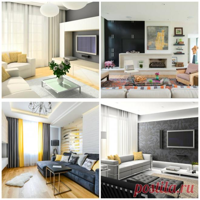 Modelos de salas modernas: Ideas y trazos del diseño perfecto