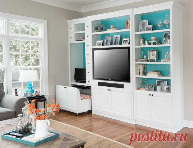 Гостиная с компьютерным столом (47 фото): дизайн гостиной с телевизором и компьютером. Интересные решения для размещения мебели и компьютера в интерьере в современном стиле