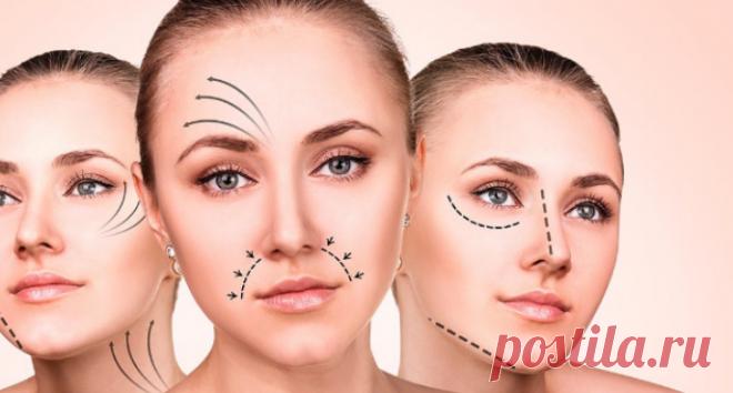 Почему кожа лица обвисает раньше времени / Будьте здоровы