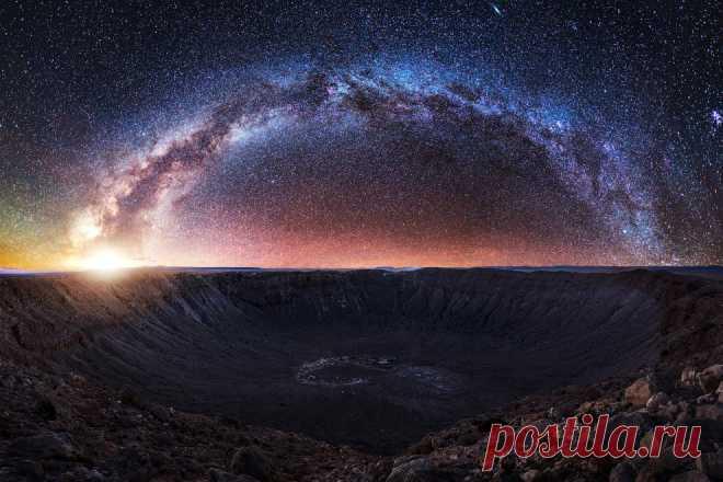 Аризонский кратер   ФОТО НОВОСТИ