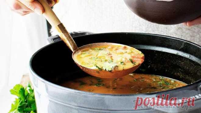 Копченый чечевичный суп по-немецки