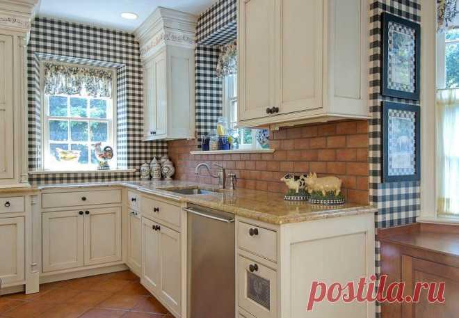 Модные обои для кухни: 95 фото кухонных интерьеров 2018 — Дом и Сад