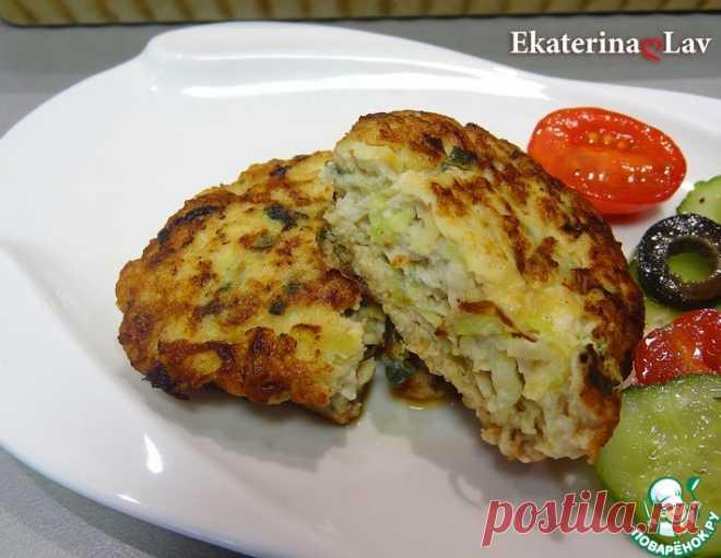 Сочные куриные котлеты с кабачком – кулинарный рецепт