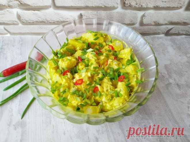 Датский картофельный салат с соусом Ремулад Сегодня готовлю датский картофельный салат с соусом Ремулад. Готовится салат просто, получается вкусно. Может выступать как самостоятельным блюдом на обед или ужин, так и гарниром к любому мясному блю...