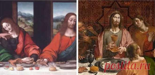 Загадка «Тайной вечери» Леонардо да Винчи, которую не могут разгадать по сей день Посмотрите запись, чтобы узнать подробности.