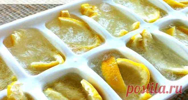 Заморозьте лимоны и попрощайтесь с диабетом, опухолью и ожирением. Секретный метод, который творит чудеса…