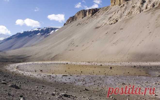Самое соленое озеро в мире