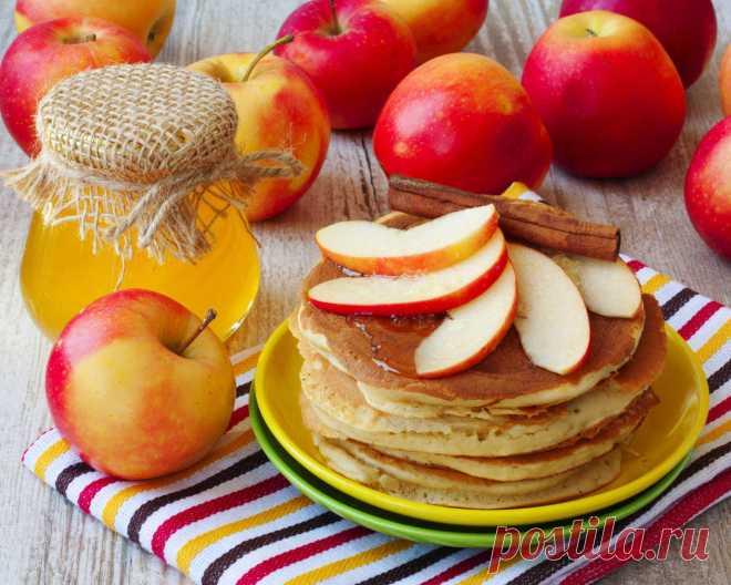 Los crepes de manzana, de nuez y smetannye - 3 recetas »el Mundo Femenino