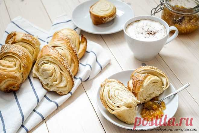 La baguette tourbillon – французский слоеный багет