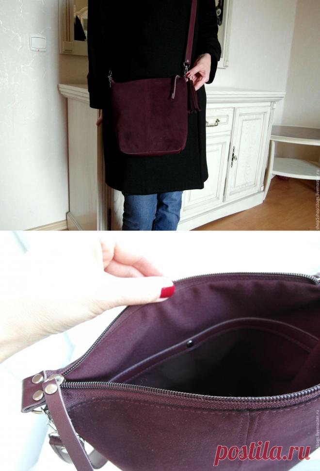 98e835f05638 Купить Кожаная сумка на плечо