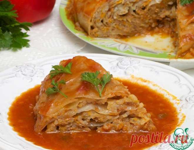 Фаршированный кочан – кулинарный рецепт