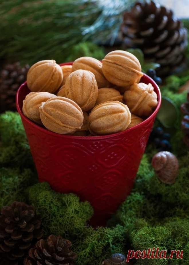 Как приготовить орешки со сгущенкой - рецепт, ингредиенты и фотографии