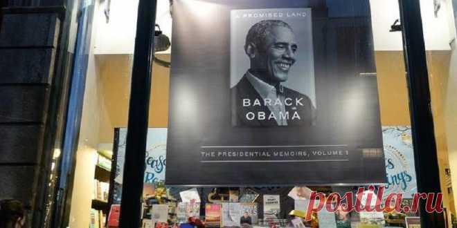 Новая книга Барака Обамы установила рекорд продаж в США и Канаде | В мире