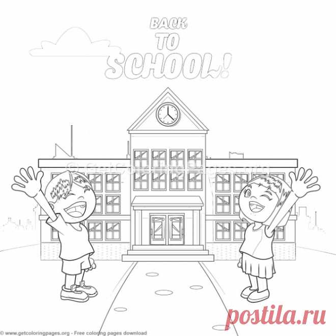 25 Back to School Coloring Pages – GetColoringPages.org