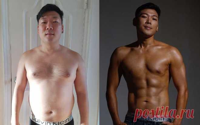 Мужчина похудел, чтобы поддержать жену во время лечения от беспложия . Милая Я