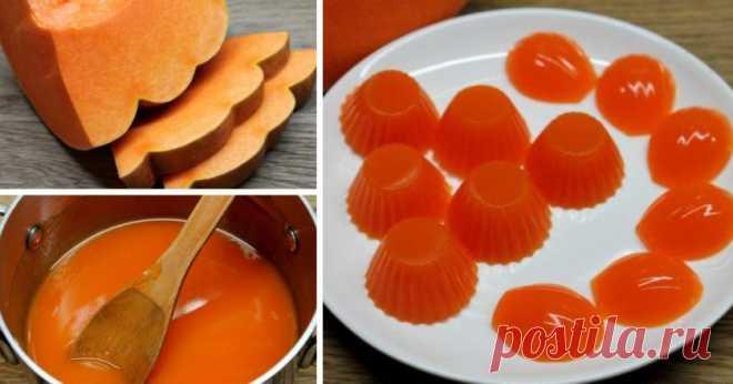 Домашний тыквенный мармелад: полностью заменяет все магазинные желейные конфеты