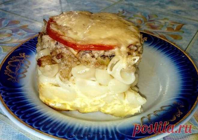 (3) Запеканка из макарон и фарша👍🍛👌🍴😇 - пошаговый рецепт с фото. Автор рецепта Оксана Прядко . - Cookpad