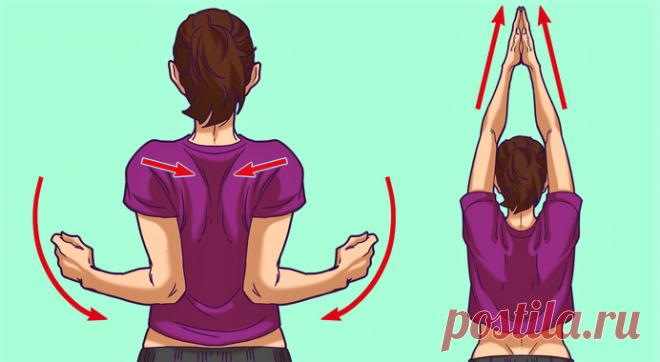 Нашла непопулярную гимнастику для плечевого пояса. Головные боли, как рукой сняло, кровообращение и зрение улучшились | Секреты жизни | Яндекс Дзен