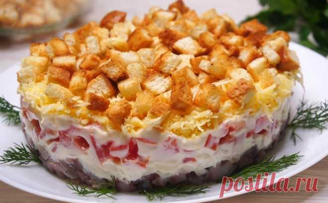«Пикантный» салат из ресторана: соперник Оливье и Шубе