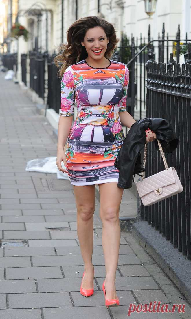 Келли Брук в Лондоне 2013 год