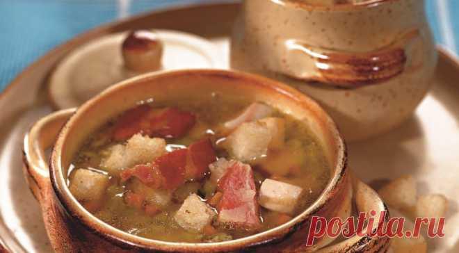 Гороховый суп с копченой курицей - Образованная Сова