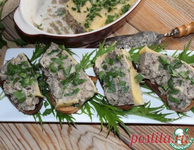 Грибной паштет – кулинарный рецепт