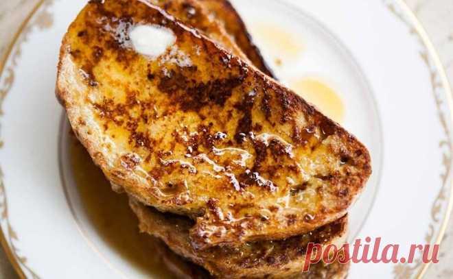Французские тосты - простой и вкусный завтрак | Рецептик - Простые рецепты | Яндекс Дзен