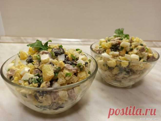 Салат мясной с черносливом. Всем привет! Салат мясной с черносливом - этот сытный и вкусный салат идеально подойдёт к ужину, а также для праздничного стола. Готовится легко и простоИнгредиенты : 1.Говядина отварная - 200 г 2.Картофель отварной - 200 г 3.Чернослив - 150 г 4.Яйца отварные - 4 шт 5.Зеленый лук - 1...