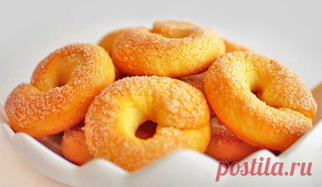 Творожное печенье «Сушки»