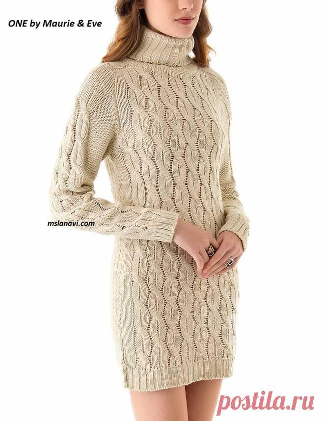 Платье с регланом