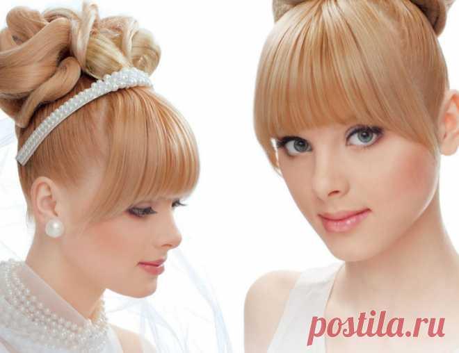 Прически с челкой - фото супер идей для волос разной длинны