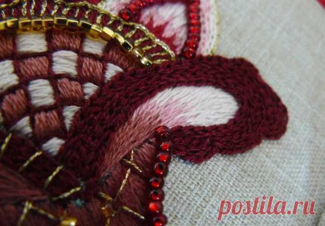 Bordado jacobino, tejido a ganchillo, suavidad artística: punteamos la