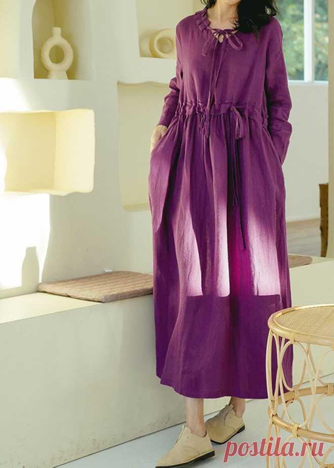 Women long dress Linen Dresses for women maxi dress Prom | Etsy