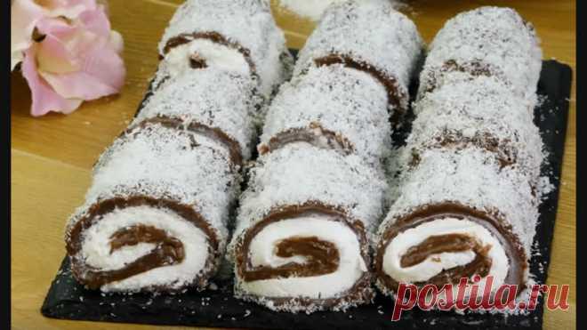 Нежный десерт без выпечки! Турецкий Султан Лукум создаст ощущение восточной сказки